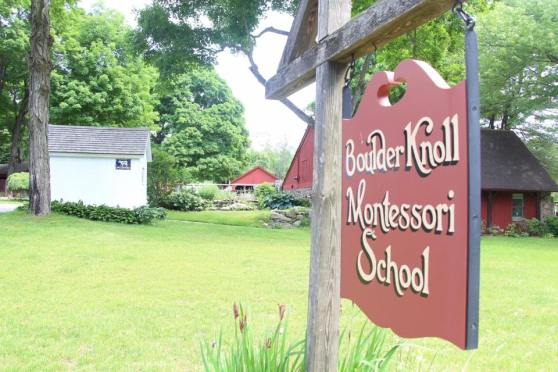 BKMS sign and school